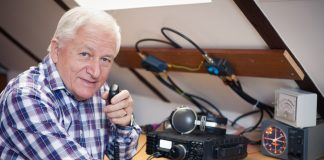 Determined Man Contacts the Space Station With a HAM Radio
