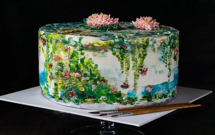 A Bob Ross Tutorial With... Cake?