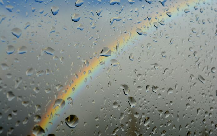 Be the Rainbow — NOT the Rain