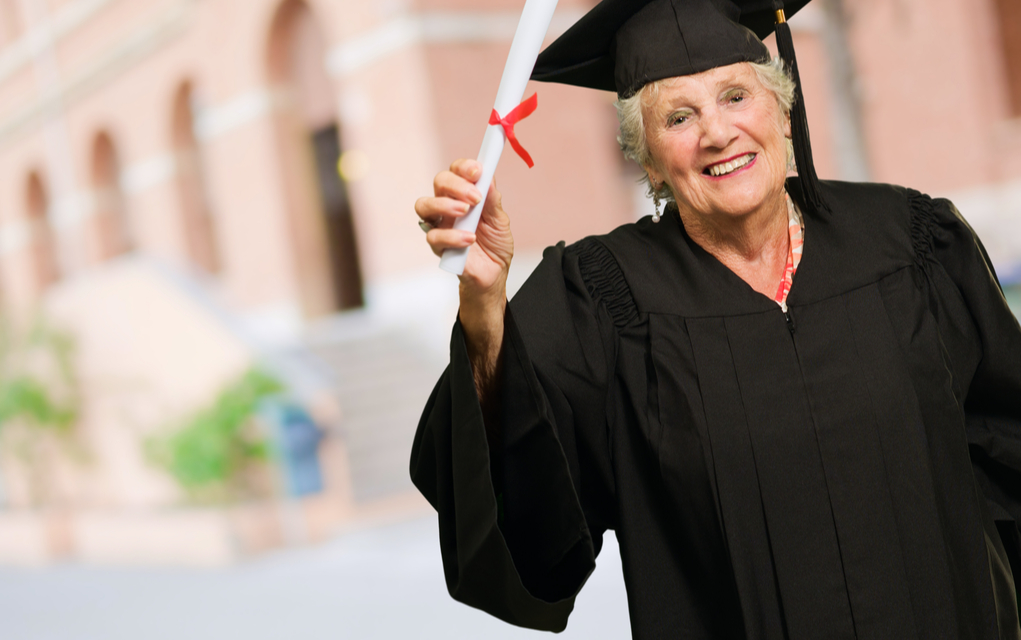 Over 60? You Can Go to College FOR FREE!